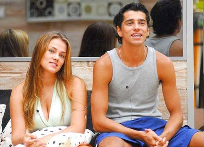 Bruna e Alberto Cowboy viveram um romance dentro e fora do BBB7 (Foto: TV Globo)