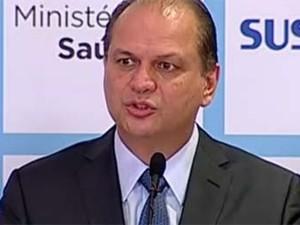 Ricardo Barros, novo ministro da Saúde (Foto: Reprodução/NBR)