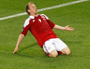 Michael Krohn-Dehli dinamarca gol alemanha (Foto: Agência Reuters)