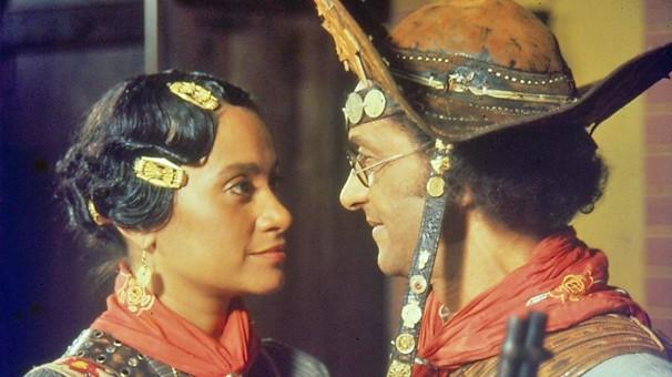 Lampião e Maria Bonita, de 1982, representou, a renovação da linguagem da teledramaturgia brasileira (Foto: CEDOC Globo)