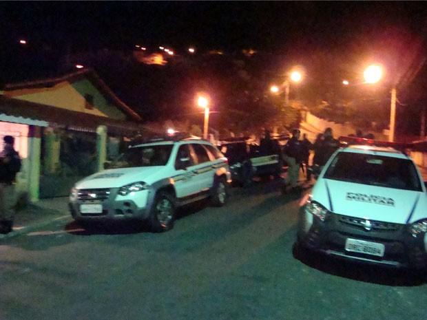 Polícia Militar conseguiu impedir fuga no Presídio de Extrema (Foto: Polícia Militar de Extrema)