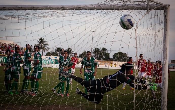 Sergipe ganha por 7 a 0 (Foto: Gleyson Prado)