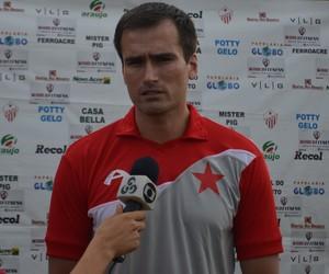 Edson Júnior, técnico de Rio Branco-AC (Foto: Murilo Lima)