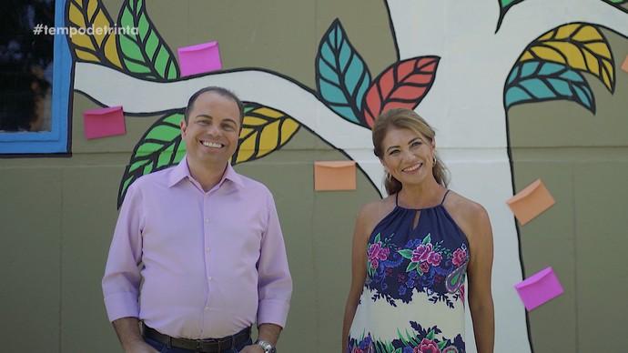 Carlos Siqueira e Edilane Araújo (Foto: Reprodução)
