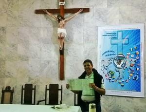 Padre Tarcísio Monay Paróquia Sagrado Coração Juiz de Fora 4 (Foto: Roberta Oliveira)