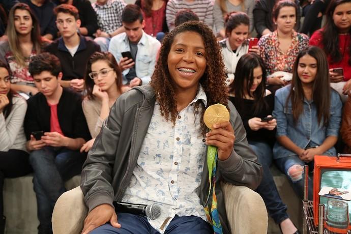 Rafaela Silva (Foto: Carol Caminha/Gshow)