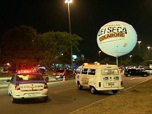 Apesar de aumento de abordagens, multas por embriaguez diminuíram (Foto: Reprodução/Globo News)