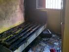 Duas pessoas ficam feridas após incêndio atingir casa, em Manaus