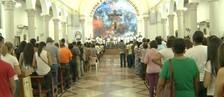 Fiéis celebram feriado de 'Corpus Christi' (Reprodução/Rede Amazônica Acre)