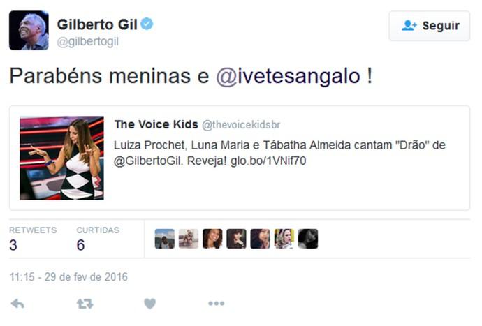 Gilberto Gil (Foto: Gshow)