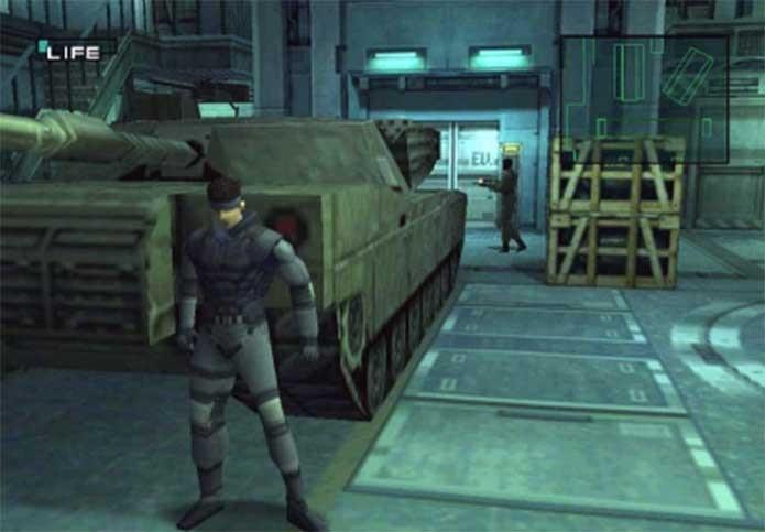 Solid Snake em Metal Gear Solid (Foto: Divulgação/Konami)