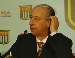 Presidente da FPF Marco Polo del Nero (Foto: Marcos Guerra/Globoesporte.com)