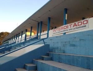Estádio Aluizio Ferreira, em Porto Velho (RO) (Foto: Hugo Crippa/GLOBOESPORTE.COM)