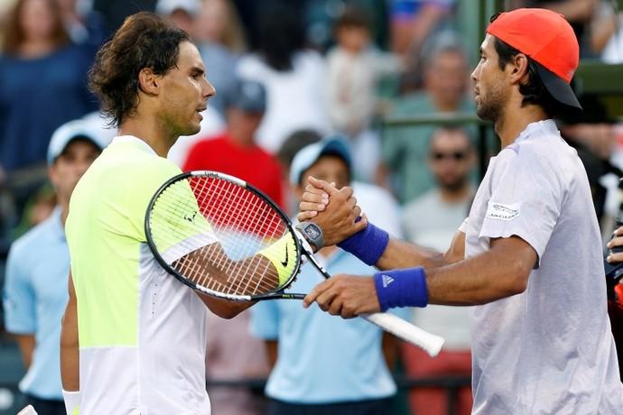 Rafael Nadal x Fernando Verdasco - Masters 1000 de Miami (Foto: Reuters)