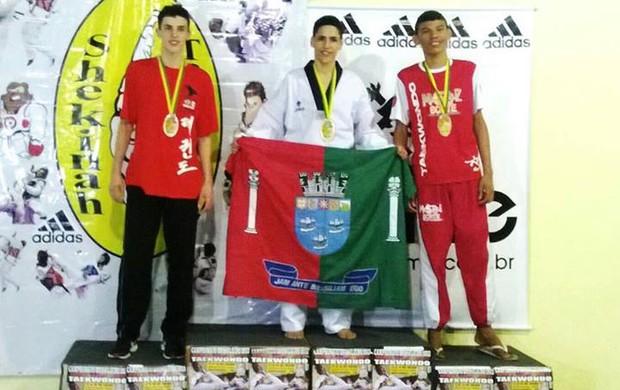 Anderson conquista medalha de bronze para o Ceará no Taekwondo (Foto: Divulgação)