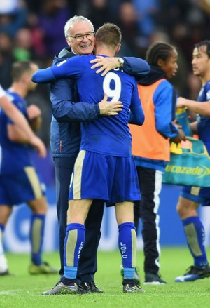 Jamie Vardy - Leicester - Claudio Ranieri (Foto: Getty Images)