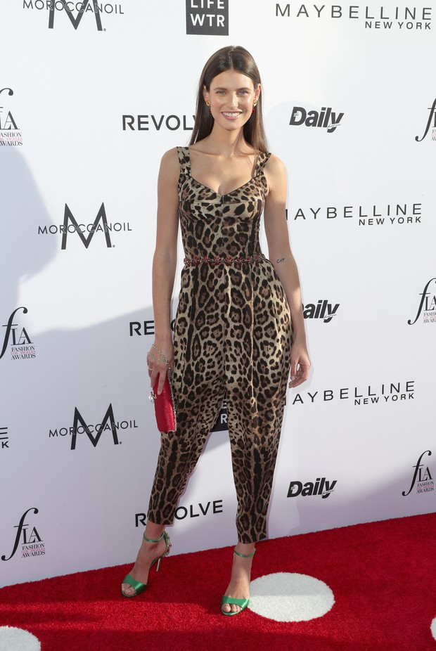 Bianca Balti no Los Angeles Fashion Awards (Foto: AFP)