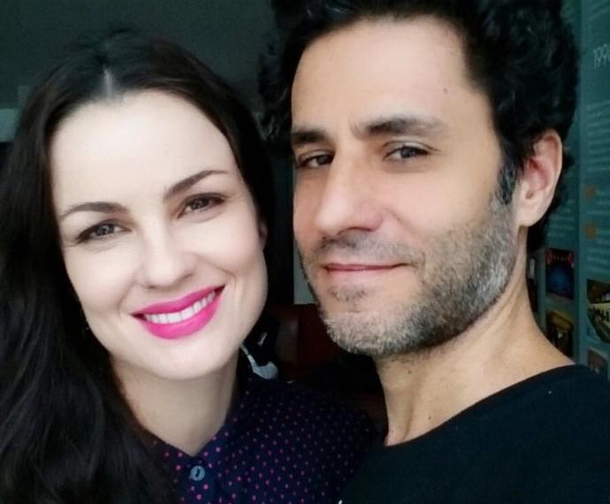 Carolina Kasting e Maurício Grecco estão juntos há 16 anos (Foto: Arquivo pessoal)