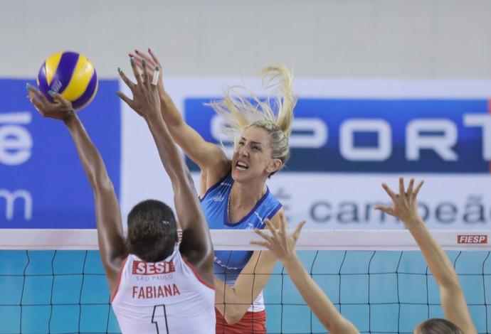 Thaísa Fabiana Osasco Sesi Superliga vôlei (Foto: João Neto/Fotojump)