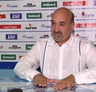 Fernando Martins da Costa Neto, presidente do São Bento (Foto: Reprodução / TV TEM)