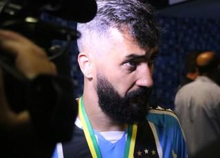 Douglas Grêmio título Copa do Brasil (Foto: Eduardo Deconto / GloboEsporte.com)