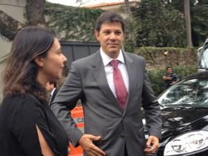 O prefeito de São Paulo, Fernando Haddad (Foto: Nathália Duarte/ G1)