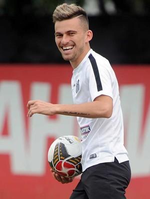 Lucas Lima, Santos (Foto: Ivan Storti/ Santos FC)