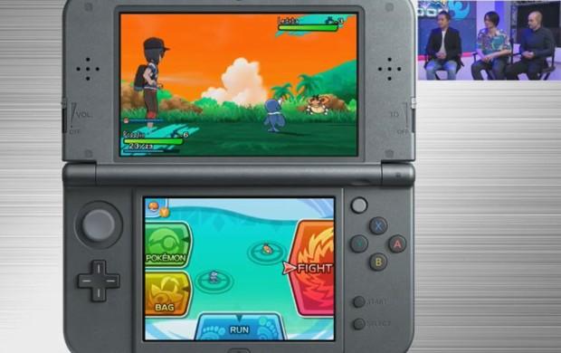 O treinador fica sempre ao lado de seu monstro nos novos 'Pokémon Sun & Moon' (Foto: Reprodução/Nintendo)