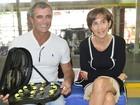 'Não convidei, nem desconvidei', diz Viviane Senna sobre Galisteu