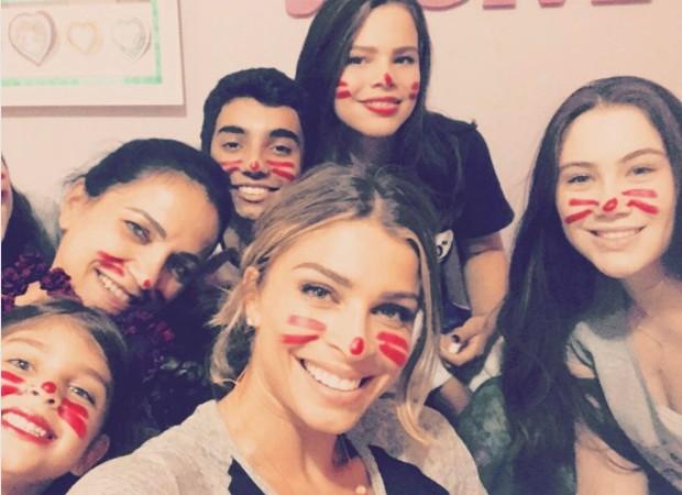 Grazi Massafera em família (Foto: Reprodução/Instagram)