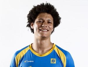 Thiagus, seleção brasileira handebol (Foto: Divulgação/CBHb)