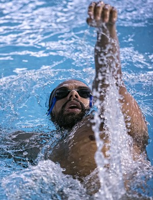 Andre Brasil natação paralímpiada (Foto: Márcio Rodrigues/MPIX/CPB)