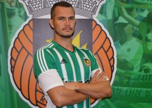 Lateral tocantinense fechou contrato de um ano e meio com clube português (Foto: Divulgação/Rio Ave)