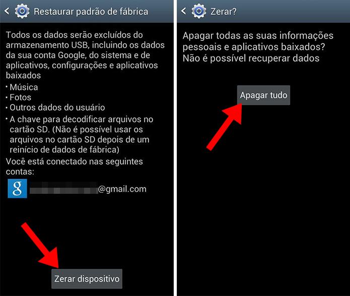 Zere a memória do Galaxy S3 Mini (Foto: Reprodução/Paulo Alves)