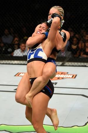 Felice Herrig x Kailin Curran UFC Chicago (Foto: Getty Images)