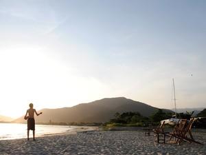 Praias afastadas são opção para 'fugir' de lotação no litoral norte de SP 1 (Foto: Daniel Corrá/G1)