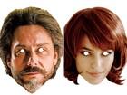 Imprima máscaras do Comendador e Danny Bond para arrasar no carnaval