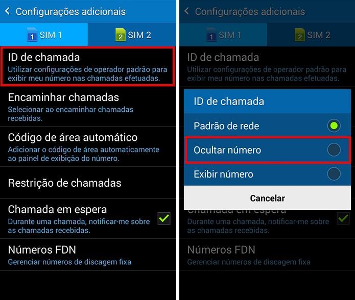 Bloqueie seu número do identificador de chamadas (Foto: Reprodução/Paulo Alves)