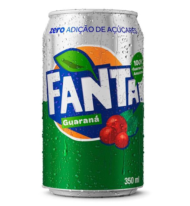 Fanta Guaraná é o novo sabor de refrigerante da Coca-Cola Brasil (Foto: Divulgação)