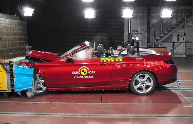O Classe C Cabriolet foi igualmente elogiado pelo Euro NCAP (Foto: Divulgação)