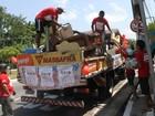 Equipes do Emaús percorrem as ruas de Belém em grande coleta