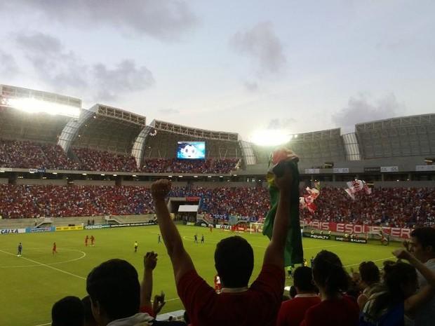 Arena das Dunas é inaugurada com rodada dupla (Foto: Fred Carvalho)
