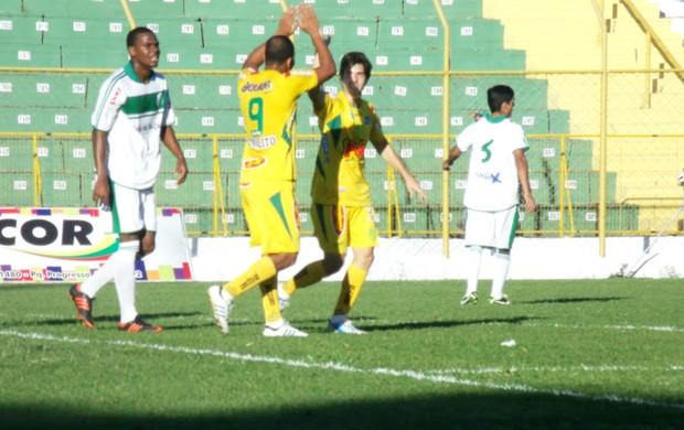 Francana x Mirassol, pela Copa Paulista, Paulinho festeja (Foto: Vinicius de Paula / Agência Mirassol FC)