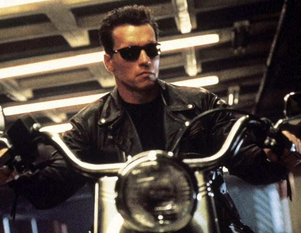 Arnold Schwarzenegger em Exterminador do Futuro (Foto: reprodução )