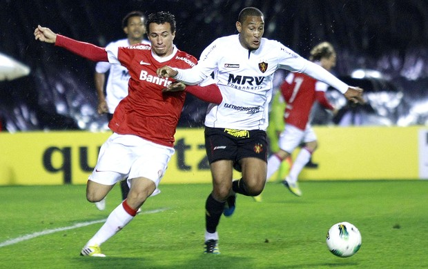 Leandro Damião, Internacional x Sport (Foto: Wesley Santos / Futura Press)