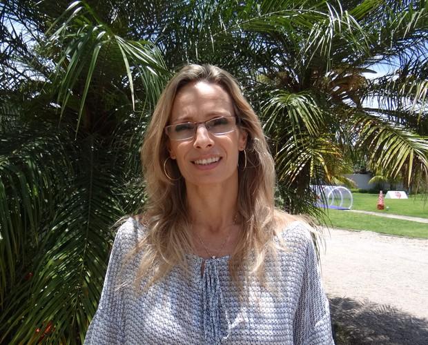 Game Bebê Hipoglós Amêndoas_Nutricionista Carolina Liberato (Foto: Hipoglós/Mais Você)