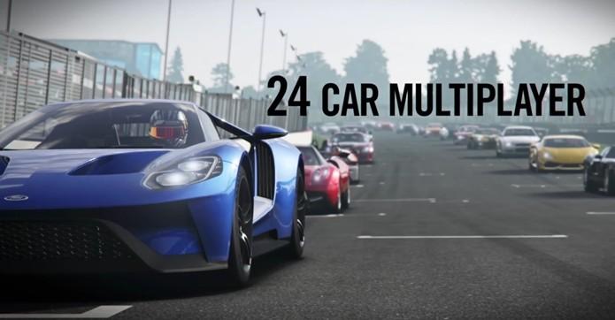 Forza 6 contará com corridas para até 24 jogadores (Foto:Reprodução/YouTube)
