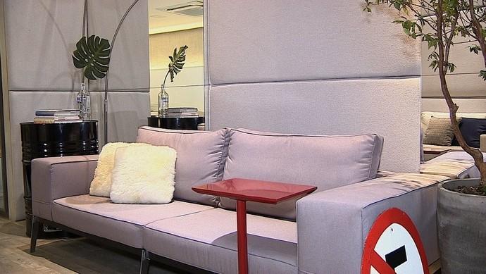 Elementos da rua podem ser usados na decoração (Foto: TV Sergipe)