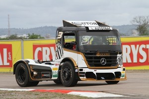 Fórmula Truck do Santos (Foto: Divulgação)