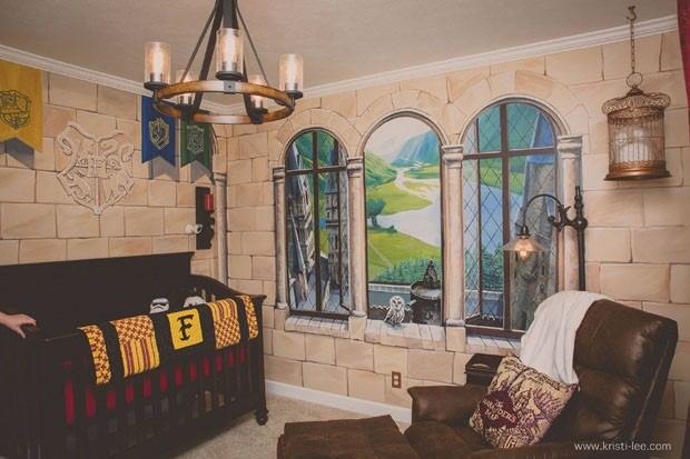 A parte favorita da mãe são as janelas (Foto: Reprodução/Facebook Kristi Lee Photography)
